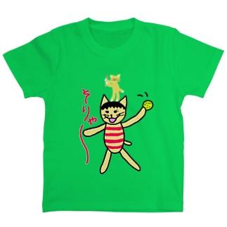 ぶんぶんねこ と かにゃん  Tシャツ T-shirts
