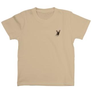 S Kodamaの我が家のきなこちゃん T-shirts