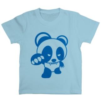 BASEfor PANDA Blue T-shirts