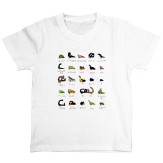 あつめて!ツノゼミくん 名前入り T-shirts