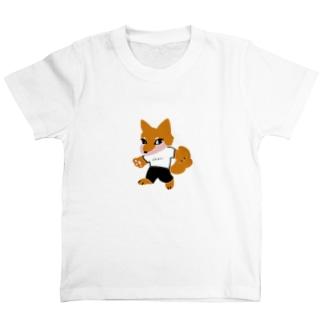 ポテトが好きな犬な神さま T-shirts