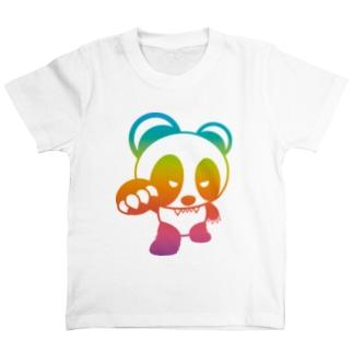 BASE forのBASEfor PANDA Rainbow T-shirts
