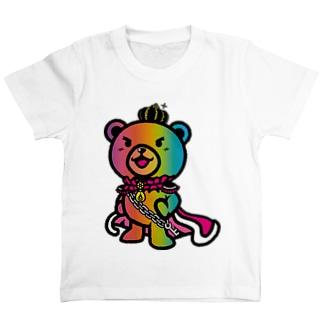 BASE forのBASEfor BEAR Rainbow T-shirts