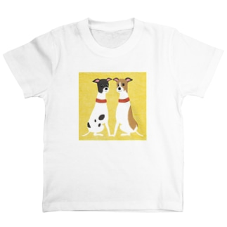 ema-emama『ウィペット』 T-shirts