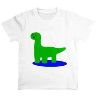 にこにこゆるきょうりゅう② T-shirts