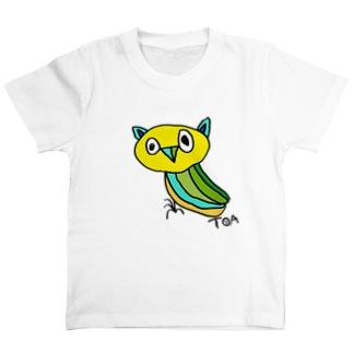 きいろのみみずくちゃん T-shirts