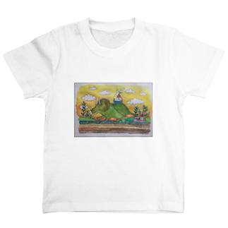 タイトル募集チュ〜トリケラ01 T-shirts