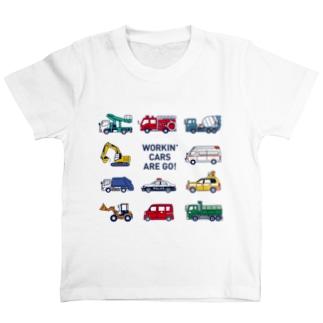はたらく車11種 T-shirts