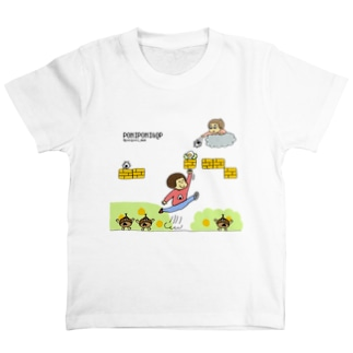 Game_in_poniponi&QP T-shirts