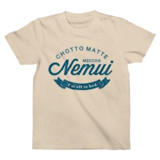 CMMN_BLUE Tシャツ