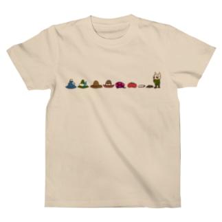 帽子いろいろ背比べ T-shirts
