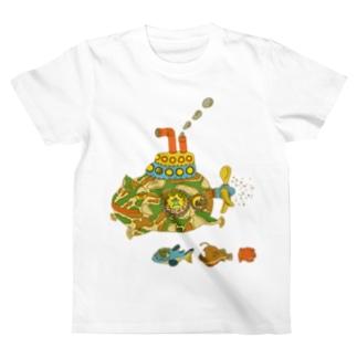 カエルのモッチ T-shirts