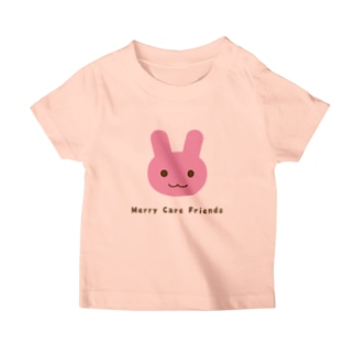 Merry Care Shopのうさぎさん Merry Care Friends T-Shirt