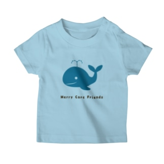 Merry Care Shopのくじらさん Merry Care Friends T-Shirt