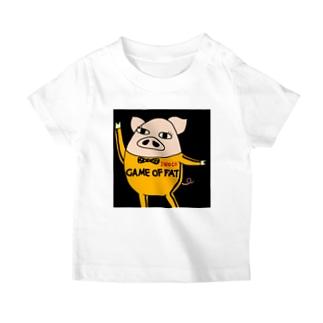INOCO 『脂肪遊戯』ロゴ入り T-shirts
