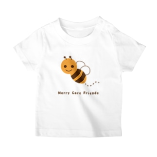 Merry Care Shopのはちさん Merry Care Friends T-Shirt
