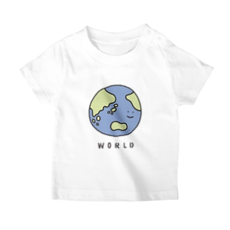 地球さん(こども) T-shirts