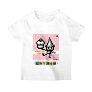 SweetsLoverドッツさん T-shirts
