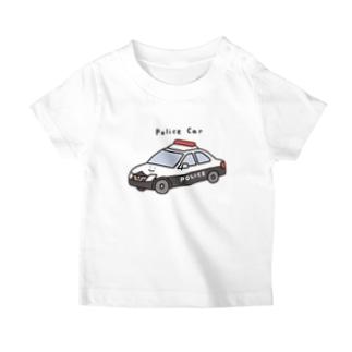 パトカーさん(こども) T-Shirt