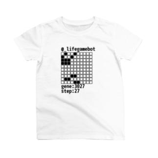 @_lifegamebot g:3027 s:27 Tシャツ
