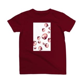 りんごが降ってくる夢を見た Tシャツ