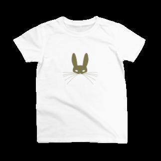 PAPER  HEKISUIのうさぎTシャツ