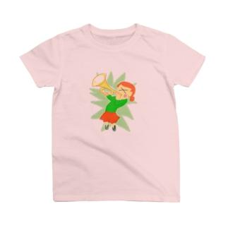 激しい!トランペッター T-shirts