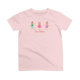 フラワーバレリーナ お人形 T-shirts