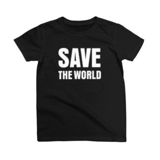 save the world T-shirts