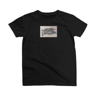 テツ君-額付き T-shirts