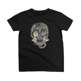 輪廻(白) T-Shirt