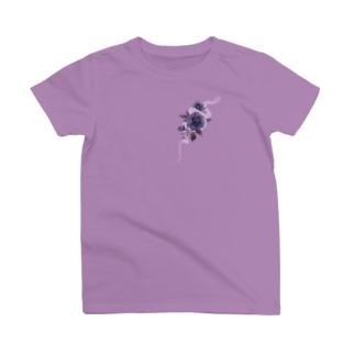 青薔薇と蛇 T-Shirt