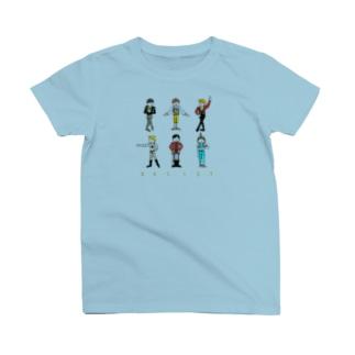 バレエ男子 大集結 T-shirts