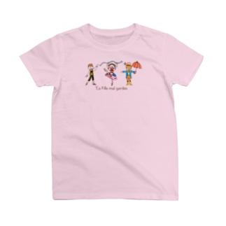 バレエ リーズと仲間たち T-shirts