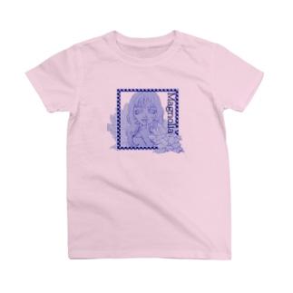 Magnolia(ブルー) T-shirts