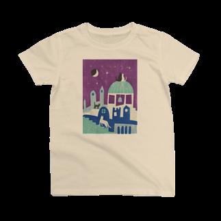 服部奈々子の猫町夜記 T-shirts