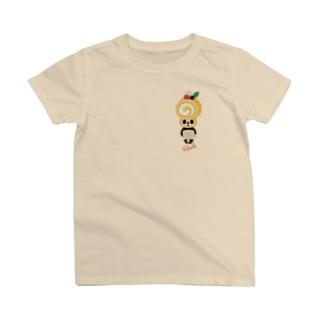 ロールケーキパンダ T-shirts