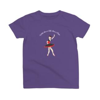 バレエイラスト (キトリ/ドンキホーテ) T-shirts