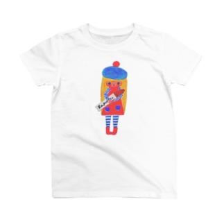 paris girl Tシャツ