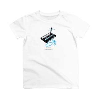cassette tape & pencil T-shirts