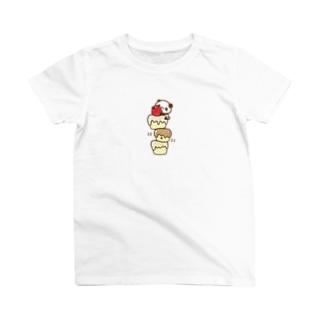 ぱんだ*ケーキ T-shirts