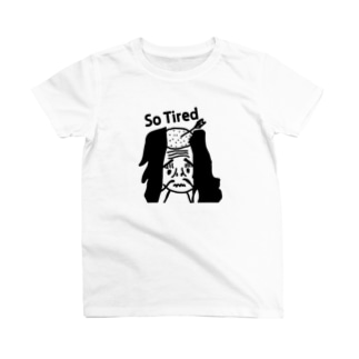 落ち武者 So Tired T-shirts