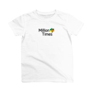 Million Times Factory T-shirts