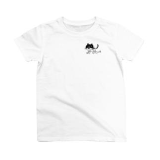 3猫好きのための T-shirts