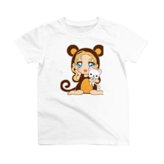 お猿さん(*^^*)可愛い T-shirts