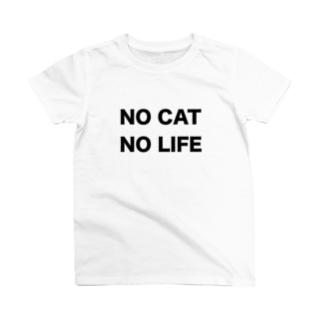 NO CAT NO LIFE T-shirts