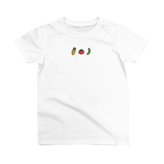お野菜は最高  T-shirts