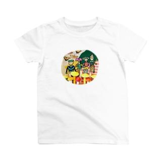 菌ピクニック T-shirts