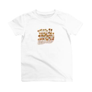 kaotandollのしめじ T-shirts