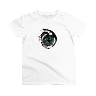 ア(宇宙)ヲシテ文字 T-shirts